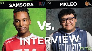 """""""He always manages to cheese me..."""" Samsora vs. MkLeo Interview at Genesis 6 