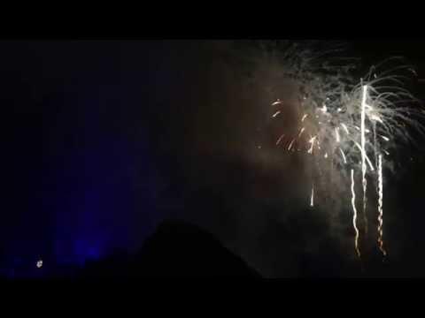 2014/2015 Magic Kingdom Park New Years Eve Fireworks Show Walt Disney World Resort