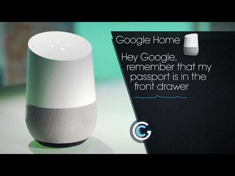 Find lost things with Google Home