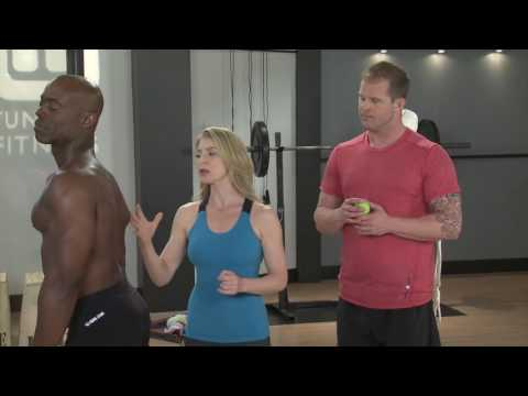 Clear Chest Tension with this Therapy Ball Technique | Treat While You Train | Tune Up Fitness