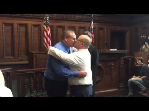 Cleveland's first same-sex marriage