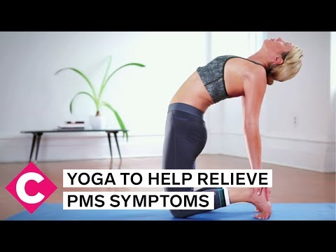 Yoga poses that will help relieve PMS symptoms