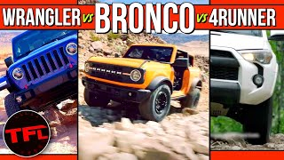 Game Changer! Here's How the 2021 Ford Bronco Stacks Up Against The Jeep Wrangler & Toyota 4Runner