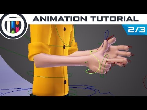 Blender Tutorial - How to Animate a Character [2/3]