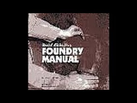 Book Review: US Navy Foundry Manual