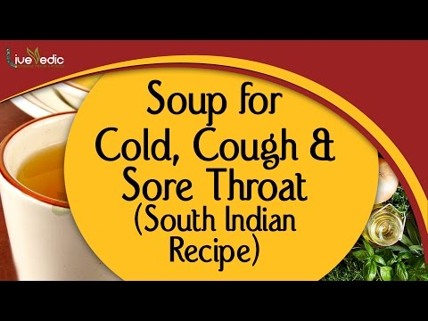 Soup for Cold, Cough & Sore Throat   Easy, Healthy, Best Healing Soup   South Indian Recipe