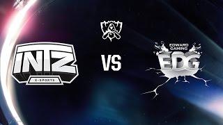 INTZ X EDG (Fase de Grupos - Dia 1) Mundial 2016