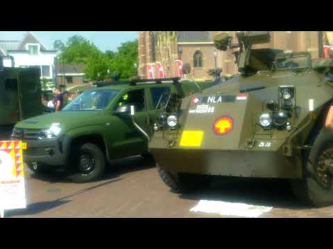 Landmachtdagen + abseilen , Schagen ,  Holland .