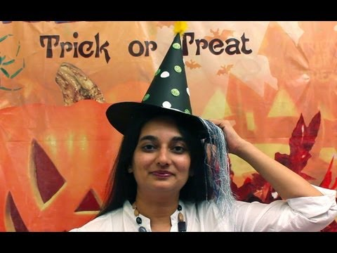 Crafty Camp-Halloween Witch's Hat