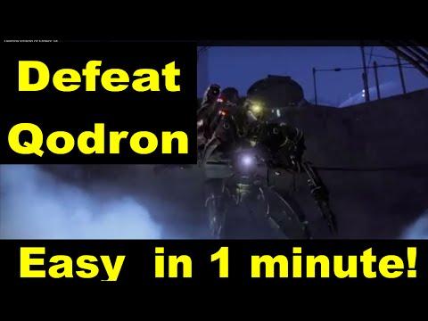 How to kill Qodron Vex Gate Lord Under 1 Minute Destiny lvl 34 Prison of Elders Easy