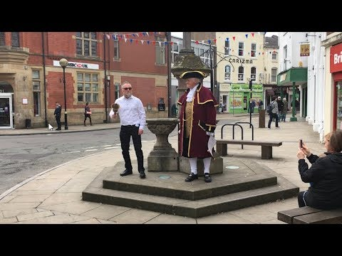 Oswestry hosts town crier auditions