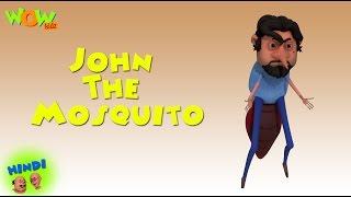 Motu Patlu Cartoons In Hindi | Animated cartoon | John the mosquito | Wow Kidz