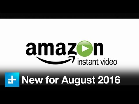 New on Amazon Instant Video in August 2016