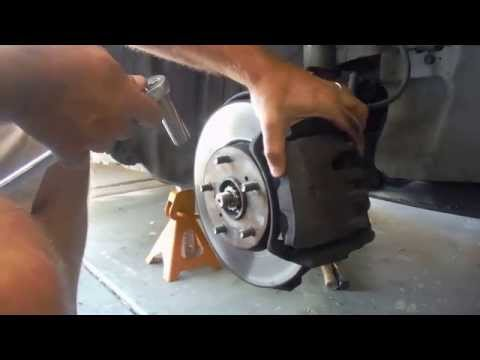 How to Replace Front Brake Pads on a 1995 Lexus ES 300 (Same as Toyota Camry)