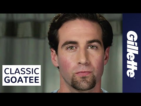 Goatee Styles: How to Shave a Classic Goatee | Gillette