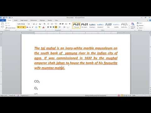 Font Formatting in Microsoft Office Word in Hindi