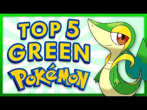 Top 5 Greens in Pokemon