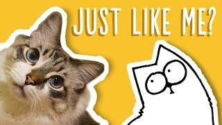 just like my cat simons cat