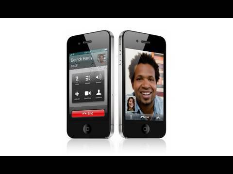 FaceTime Video Calling with iPhone 4