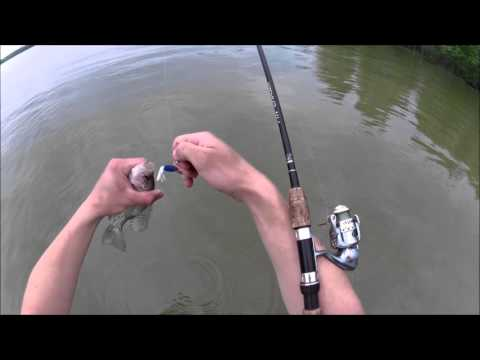Ohio saugeye and crappie summer fishing!!! Lots of action!