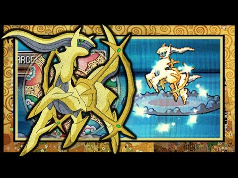 LIVE!! Shiny Arceus in Platinum after Only 1510 SRs