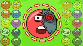 НОВЫЙ ГЕРОЙ в игре красный шарик для детей про New Red Ball 4 от Спуди !