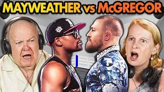 Elders React to Mayweather Vs. McGregor (Money Fight)