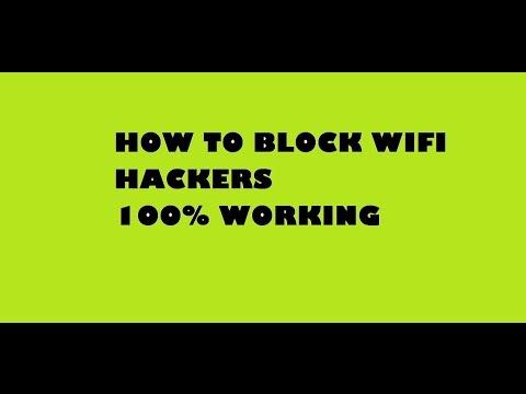 block wifi hacker 100% WORKING