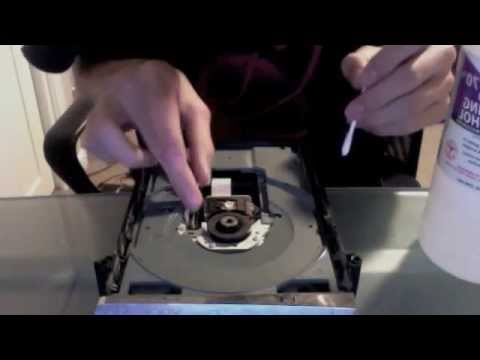 Xbox 360 DVD Drive Lens Cleaning