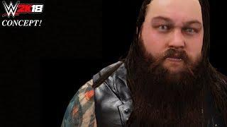 WWE 2K18 Entrance CONCEPT: Bray Wyatt (Intro Talk & Lamp Taken in the ring - 2017 Version)