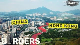 China is erasing its border with Hong Kong