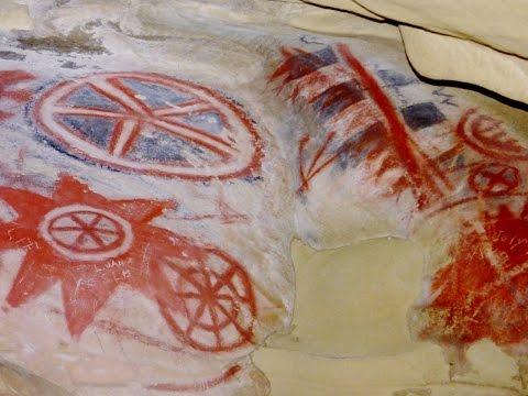 Painted Cave - Chumash Pictographs Of Santa Barbara - California