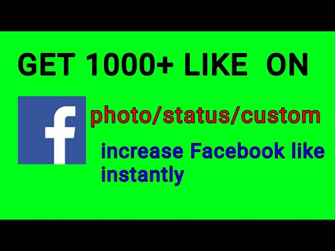 How to get More Likes On Facebook Profile Picture ,cover photo, status 2017 100