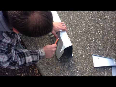General Maintenance Company / Gutter Miters Step 6