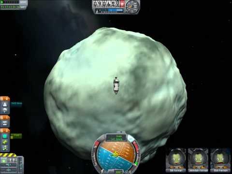 Landing On Minmus in Kerbal Space Program 0.15