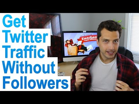 How to Get Website Traffic From Twitter Without Followers