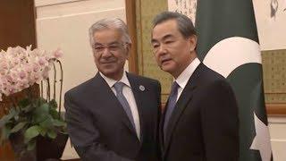 Wang Yi meets his counterpart from Tajikistan