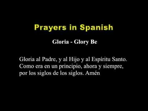 Prayers in Spanish