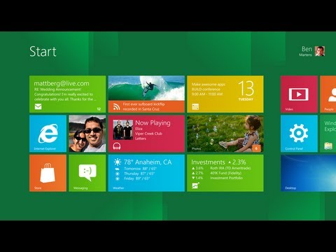 Windows 8 Developer Preview: A first look at Microsoft's tablet OS in action