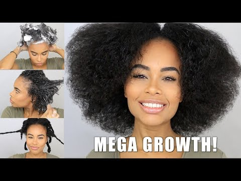 How TF is My Hair Growing so Fast Sista?!? The BEST wash day routine for fast Natural Hair Growth!