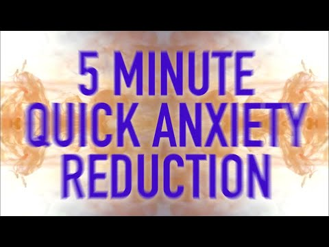 5 Minute Quick Anxiety Reduction - Guided Mindfulness Meditation