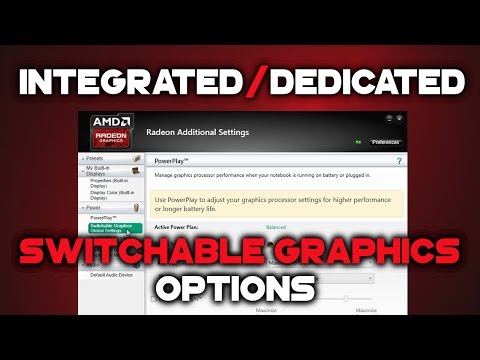HOW TO configure AMD Switchable Graphics in Radeon Software Crimson