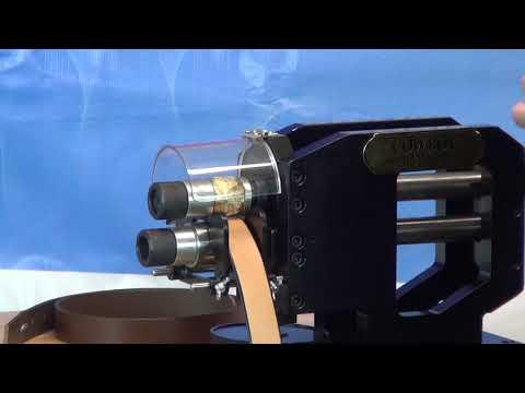 Máquina para grabar cinturón de rodillos