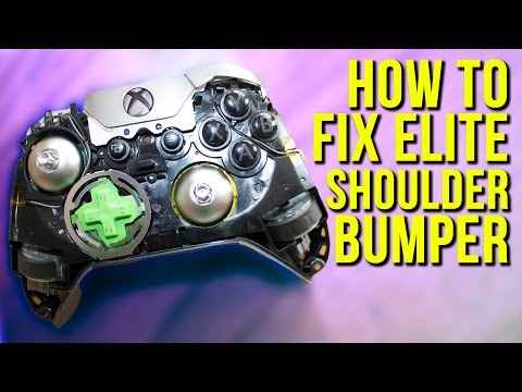 How To Fix Shoulder Bumper On Xbox One Elite Controller | How To Fix Shoulder Button On X1 Elite