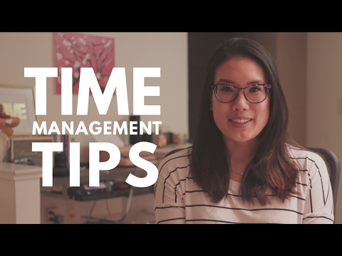 How I Manage My Time | Time Management Tips from a Med School Student
