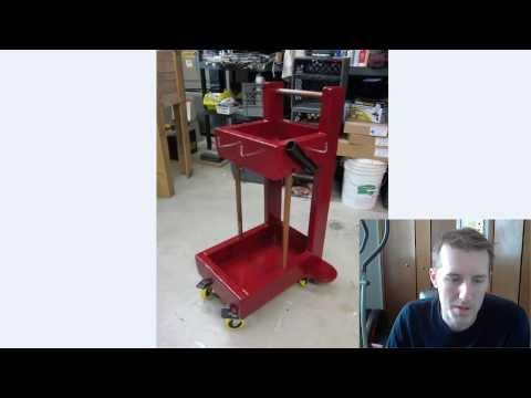 DIY - Welding Cart - Easy to Build Plans