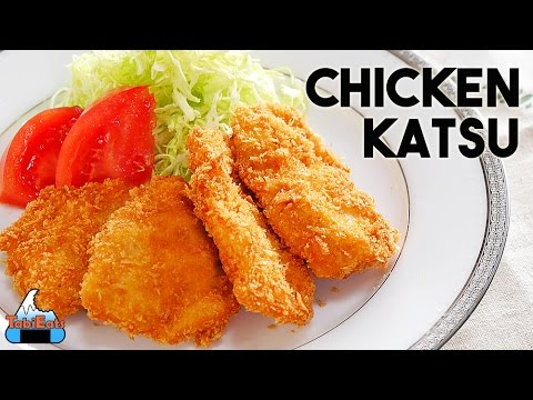 Easy Chicken Katsu (Cooking with Mom-RECIPES)