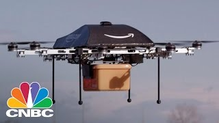 Amazon Tests First Drone Delivery Service