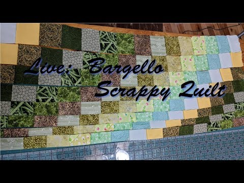 Bargello Scrappy Quilt continues