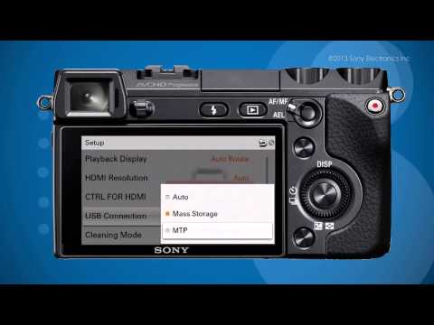How to transfer Media off a Memory Card and USB device to a Sony® Personal Content Station